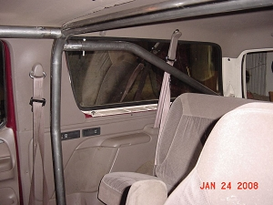 1978-1996 Ford Bronco - 4 Point Roll Cage with Front Cage Kit #BR10